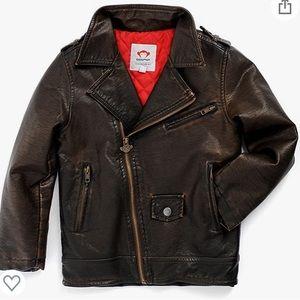 Appaman moto jacket in Bitter Chocolate 7